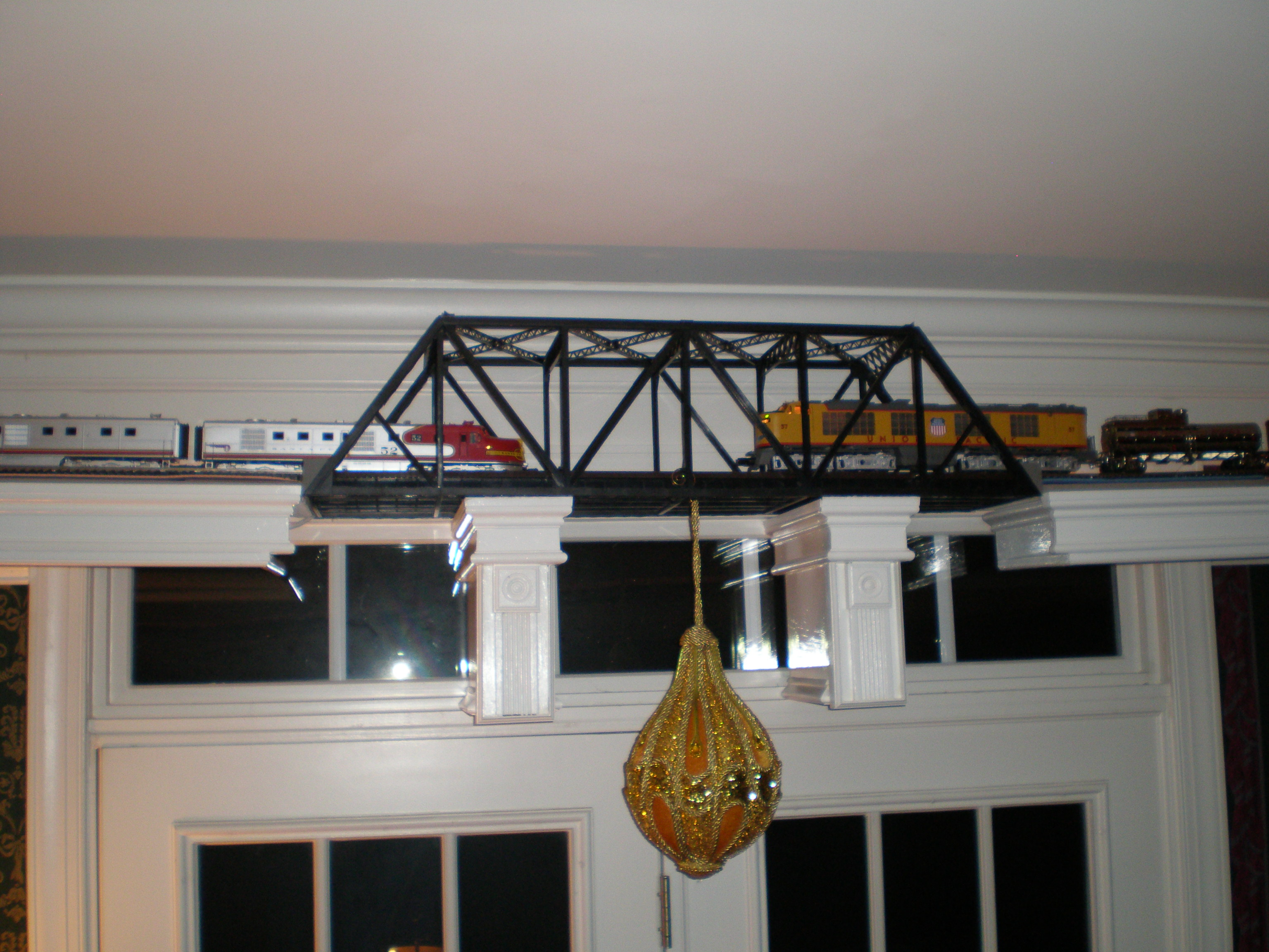 Ceiling Layout | O Gauge Railroading On Line Forum for Train Ceiling Light  55jwn